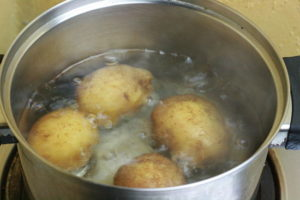 Cómo cocer las papas